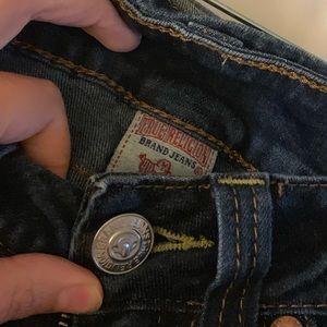 True Religion high rise boot cut jean